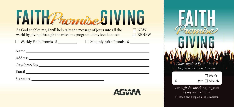 Faith-Promise-Card